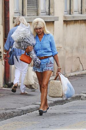 Ivana Trump in St Tropez