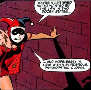 Harley Quinn Mad Love Quotes