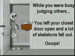 Judgemental people