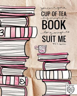 Cup Of Tea Big Enough Book