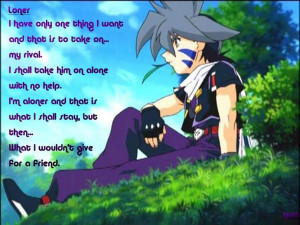 Beyblade 4- Kai's poem wallpaper