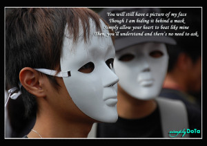 Quote 174 - Mask