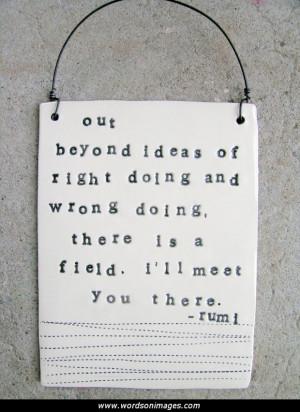 Rumi friendship quotes