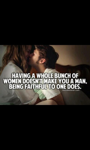 Faithfulness in your relationship is a must and has always been #1 in ...