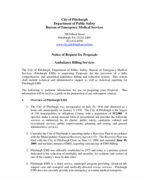 Medical Billing Proposal Sample