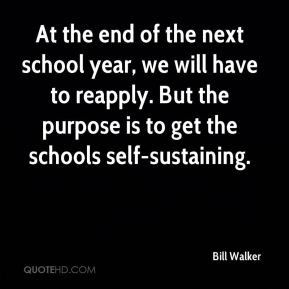 At the end of the next school year, we will have to reapply. But the ...