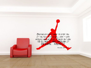 Michael Jordan Inspirational Quote by VinylWallLettering on Etsy, $34 ...