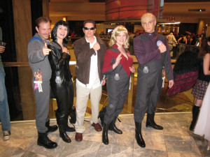 Galaxy Quest cosplay by Eldanildiel. Never Give up, Never Surrender!