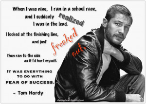Tom Hardy: Fear of Success by SlashingDasani