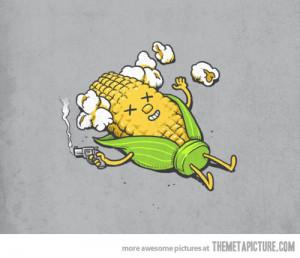 Funny photos funny popcorn art clipart