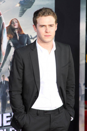 Iain De Caestecker Captain America: The Winter Soldier premiere ...