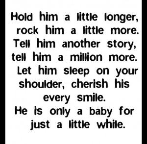 Sweet baby boy poem