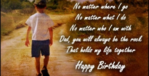 ... wishes for dad – Happy Birthday Father Greetings, Quotes, SMS
