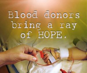 Quotes on Blood Donation Quotes