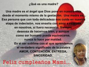 Happy Birthday Poems for Mom in Spanish