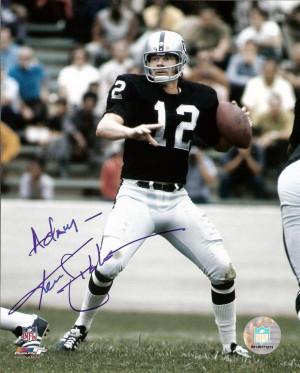 Ken Stabler 8x10 Picture