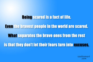 Courage Quotes, Sayings about Bravery
