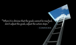 ... Confucius's quotes about consistency and never give up for success