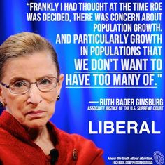 Racist. Promoter of Eugenics. Pretty much the Margaret Sanger of today ...