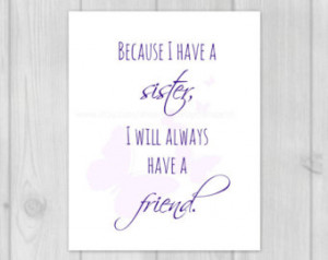 Sister Quote-Sister in Law Gift-Christmas Gift Ideas-Sister Gifts-Gift ...