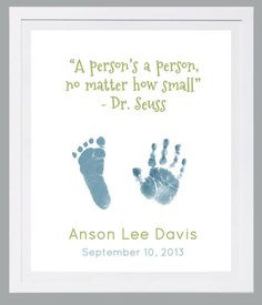 Hand and Footprint Art by Forever Prints. New Baby, Baby loss. Dr ...
