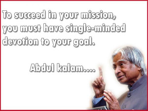 APJ Abdul Kalam's Best Quotes - Photos