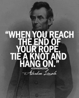 kushandwizdom abraham lincoln Abraham Lincoln quotes