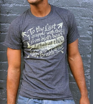 Moby-Dick Quote T-Shirt.