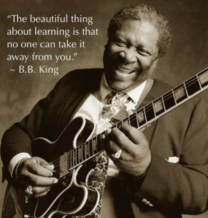 The one, the only, Mr. BB King!