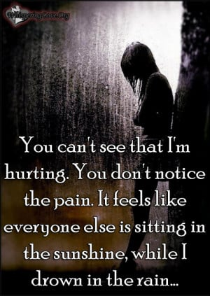 Feeling Pain Quotes. QuotesGram