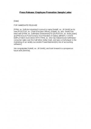 1541426209-press-release-employee-promotion-sample-letter-1 Goal Letter Template on sample business, basic cover, sample request,