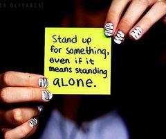 Stand up, be STRONG!