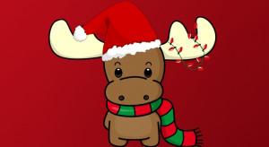 cute cute christmas reindeer color cute christmas reindeer great for ...
