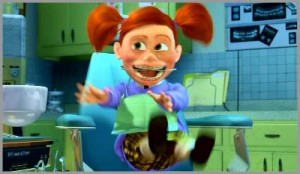 next morning cray oh my god darla from finding nemo
