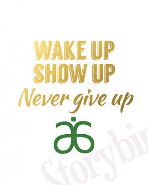Wake Up Motivational