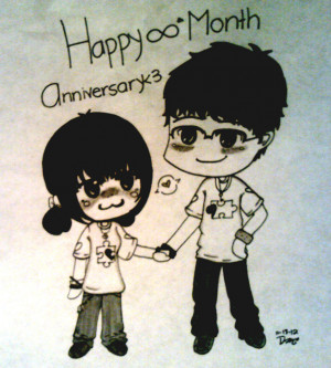 Happy 8 month Anniversary by xXCHIYOMIXx
