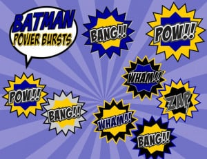 Party - BURSTS - Superheroes Party - Boys Birthday Party - Super Hero ...