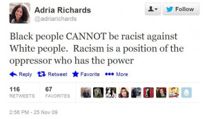 Black People Cannot Be Racist Against White People. Racism Is A ...