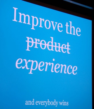 Dharmesh Shah BoS2010 Quote: Improve the experience, and everybody ...