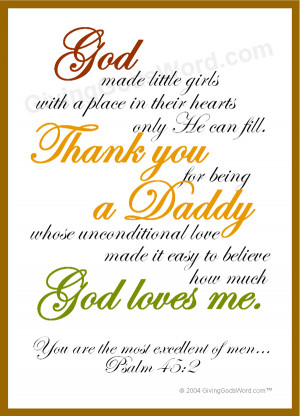 Daddy's Little Girl Poems