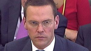 BSkyB Chairman James Murdoch appears before a parliamentary committee ...