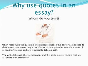 Essay ending quotes