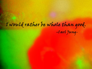 Carl Jung Quote Modified
