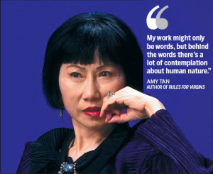 Amy Tan returns with Rules for Virgins