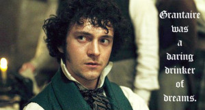 Les Miserables quote with the wonderful George Blagden as Grantaire ...