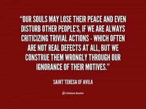 Quotes by Saint Teresa Of Avila