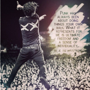 ... November 3rd, 2013 Leave a comment Author Billie Joe Armstrong Quotes