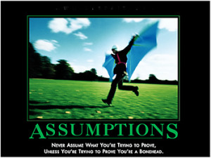 Assumptions and Constraints