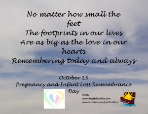 pregnancy loss poems and quotes