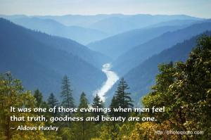Sayings, Quotes: Aldous Huxley
